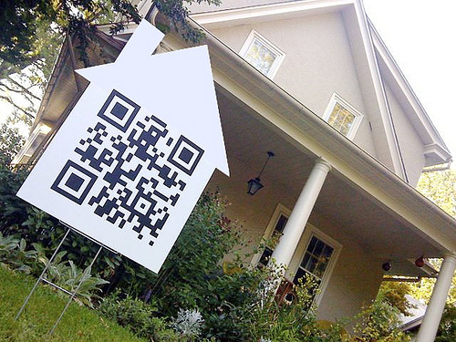 QR codes for real estate agents.