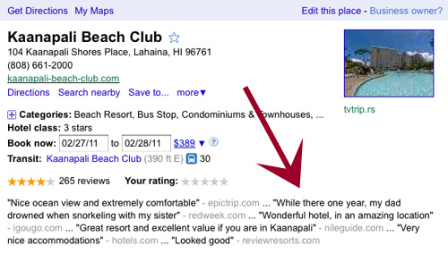 When Google Review Clippings Go Horribly Wrong