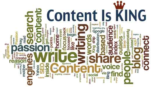 Why Content is Still the King of Online Marketing